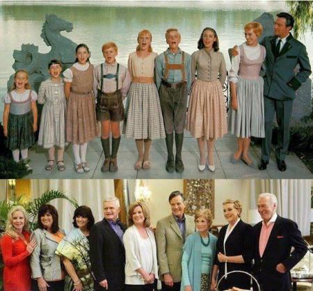 Sound of Music - then and now