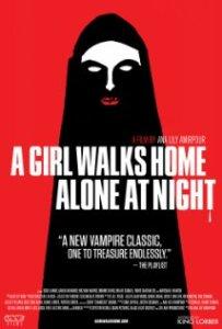 a girl walks home